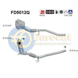 Passat (2.0TDi) -05/10 roetfilter silicon