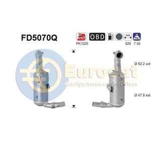 Corsa D / Meriva B (1.3CDTi) 07/06- roetfilter silicon