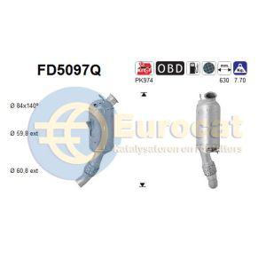 320D / X1 (E90/E91/E92/E4 2.0D) 09/09- roetfilter silicon