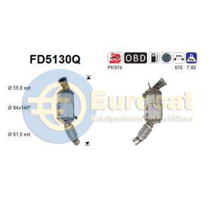 116D / 118D / 316D / 318D / X1 (2.0D) 09/06- roetfilter silicon