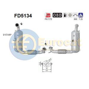Fiesta VI / Mazda 2 (1.6TDCi) 06/08- roetfilter cordieriet