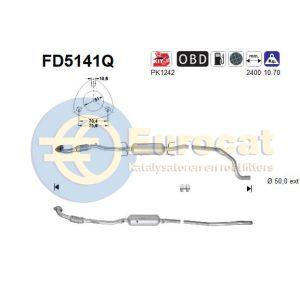 Corsa D (1.7CDTi) 08/06- roetfilter silicon