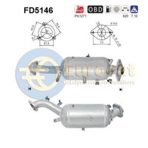 ISII 220 (2.2TD D4D) 08/05- roetfilter cordieriet