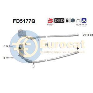 Octavia II / Yeti / Golf VI (2.0TDi ) 4 motion 05/09-  roetfilter silicon