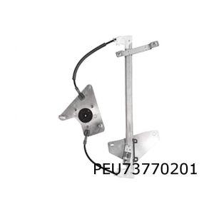 108 / C1 / Aygo (3/5-drs) raammechaniek L (voor) (elb. zonder motor)