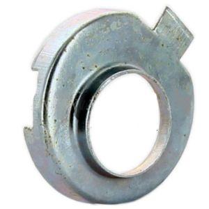 2CV6 10/72- stoterrubber metalen schild